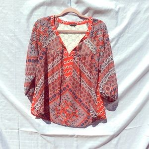 New Direction Flowy Top